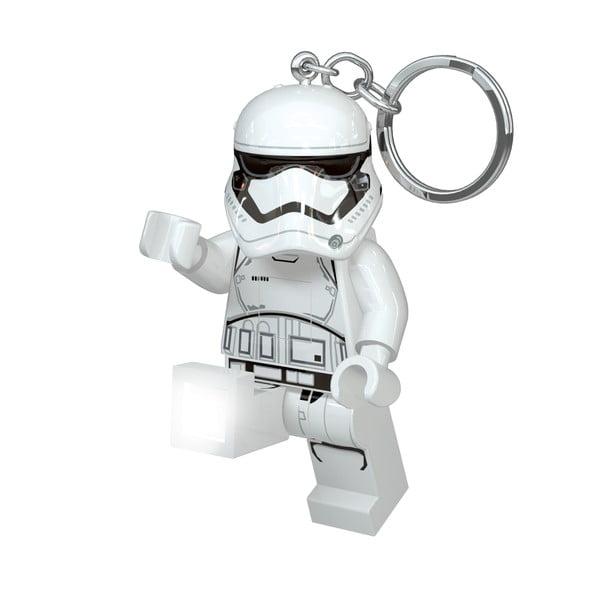Star Wars Stormtrooper kulcstartó, világító figurával - LEGO®