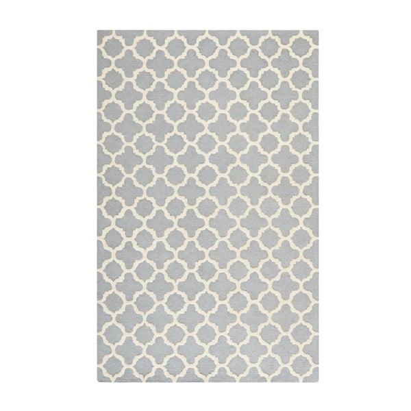 Šedý koberec Safavieh Bessa, 243 x 152 cm