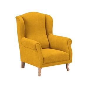 Žluté dětské křesílko KICOTI Comfort