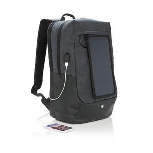 Batoh na notebook se solárním panelem a 3 USB porty Swiss Peak
