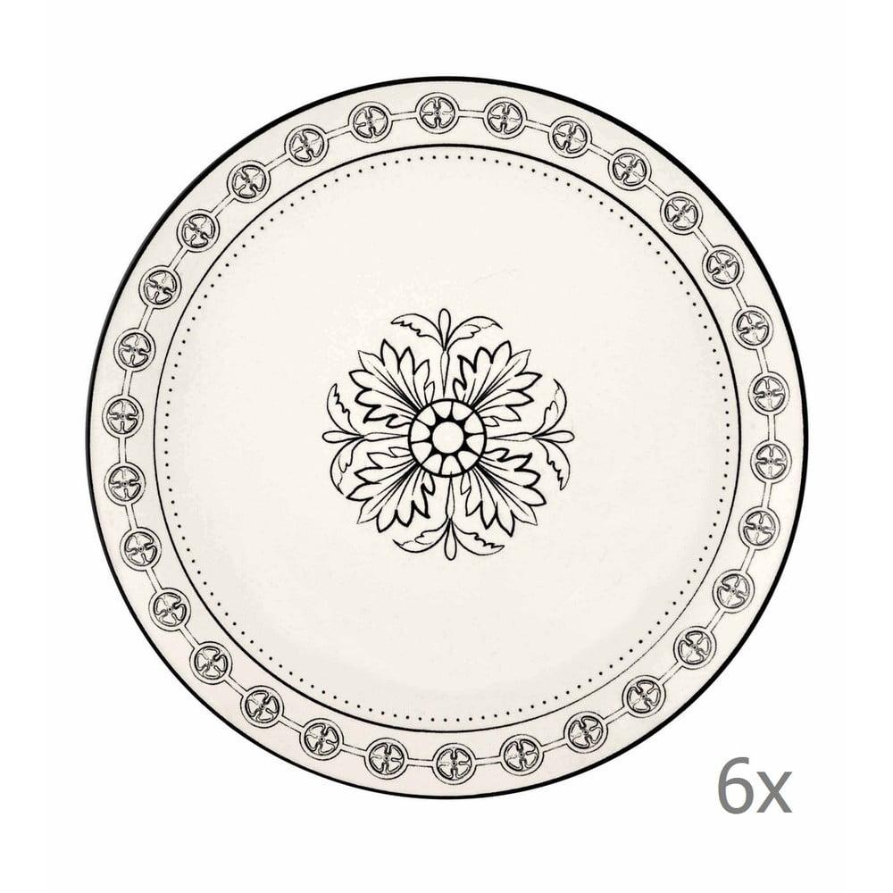 Sada 6 porcelánových dezertních talířů Mia Libre Pasta, ⌀ 21 cm
