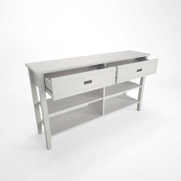 Konzolový stolek z bukového dřeva Artemob Lass