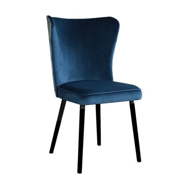 Modrá jídelní židle JohnsonStyle Odette Eden