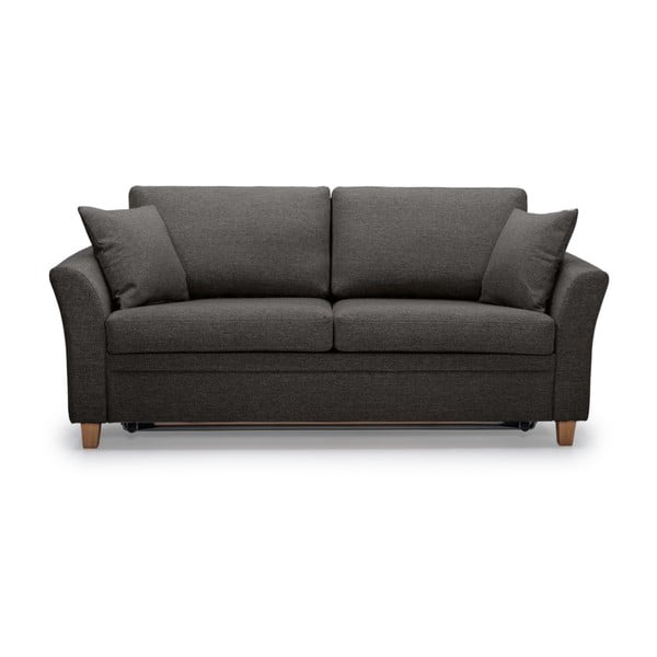 Antracytowa sofa 3-osobowa Scandic Sonia