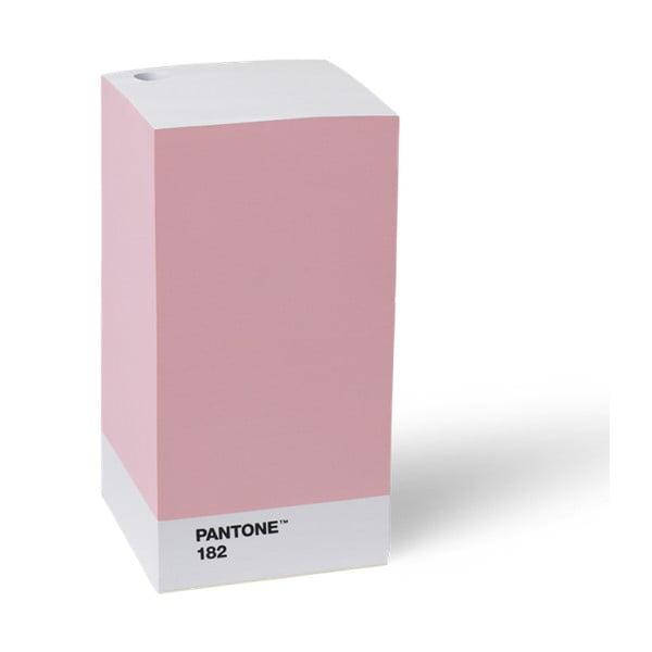 Růžový stojan na tužku / poznámkový blok Pantone