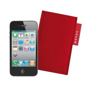 Plstěný obal na iPhone 4/4S, red