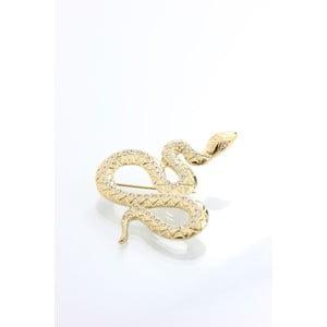 Brož Laura Bruni Snake Golden