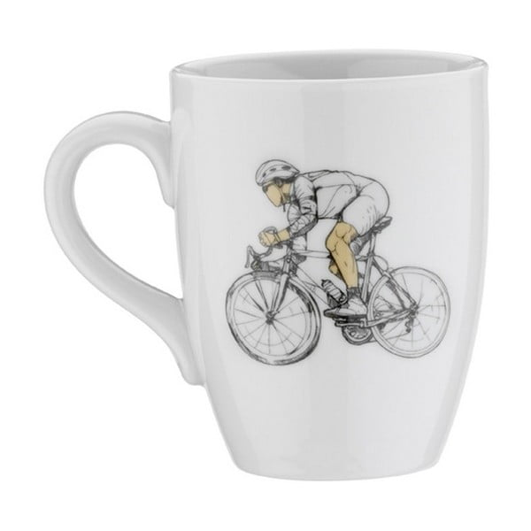 Porcelánový hrnek Bicycle, 330 ml