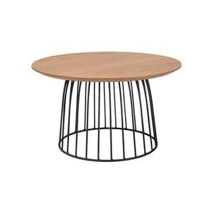 Odkládací stolek s ocelovou konstrukcí Signal Dafne, ⌀60cm