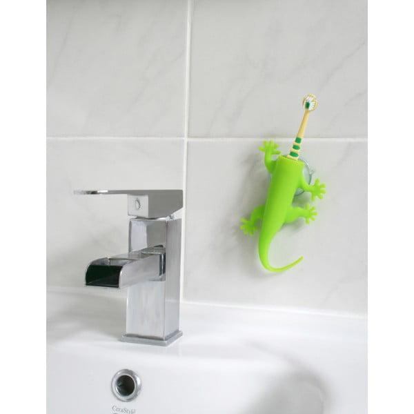 Zelený držák na zubní kartáčky J-Me Larry