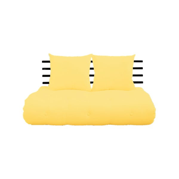 Shin Sano Black/Yellow kinyitható kanapé - Karup Design