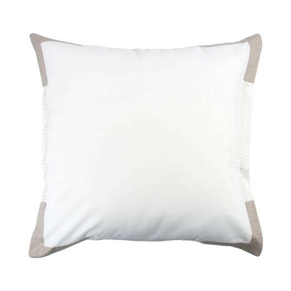 Povlak na polštář Moaré White, 50x50 cm
