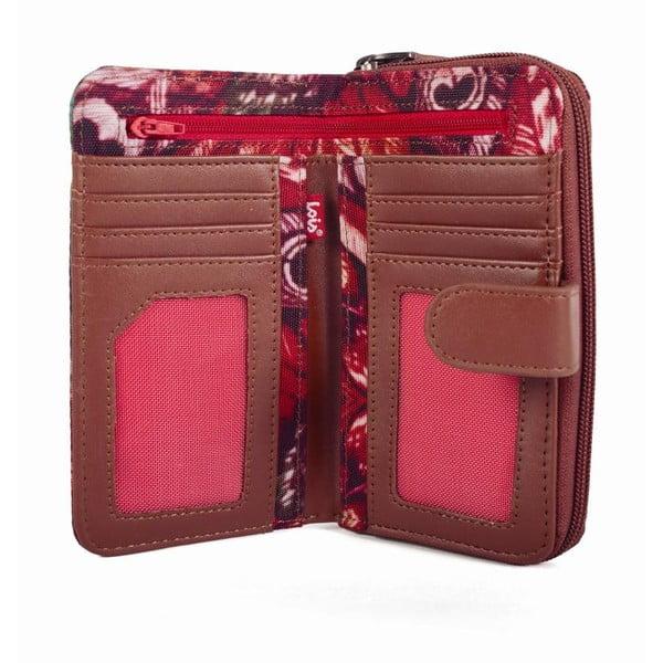 Barevná peněženka s exotickými vzory Lois, 16 x 9 cm