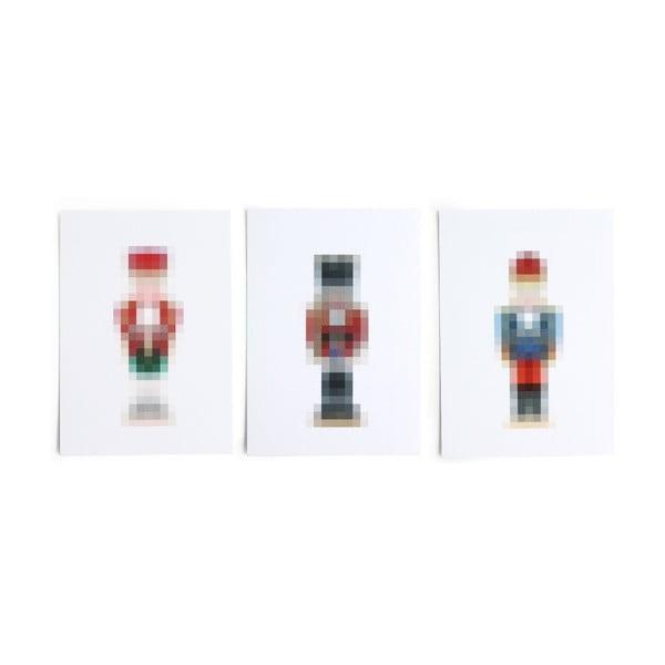 Set3 felicitări SNUG Pixel