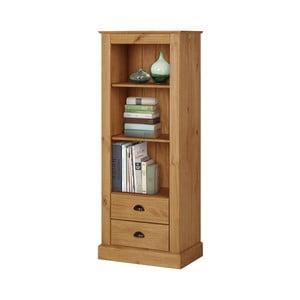 Bibliotecă din lemn de pin Støraa  Tommy, culoare naturală