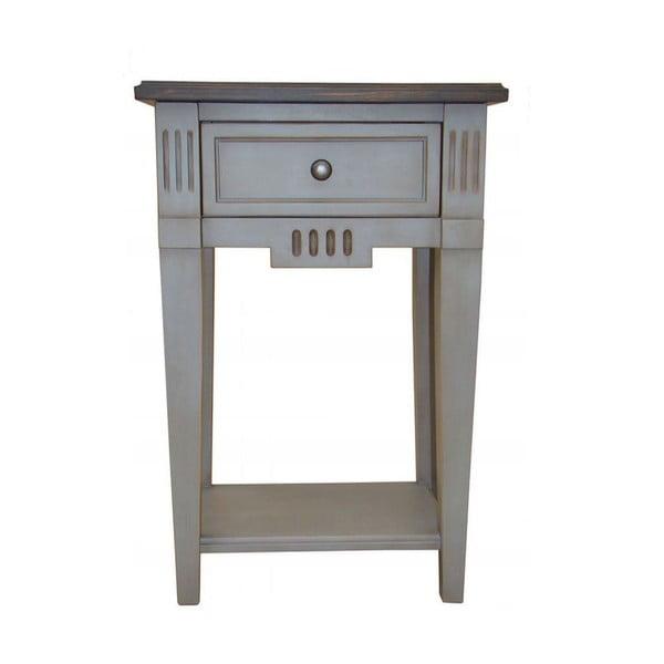 Noční stolek Transilvania Belgique Grey