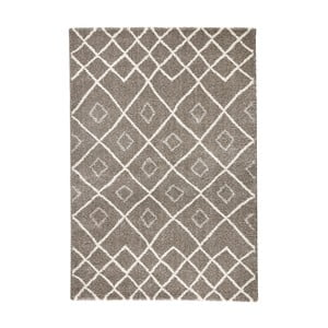 Hnědý koberec Mint Rugs Draw, 120x170cm
