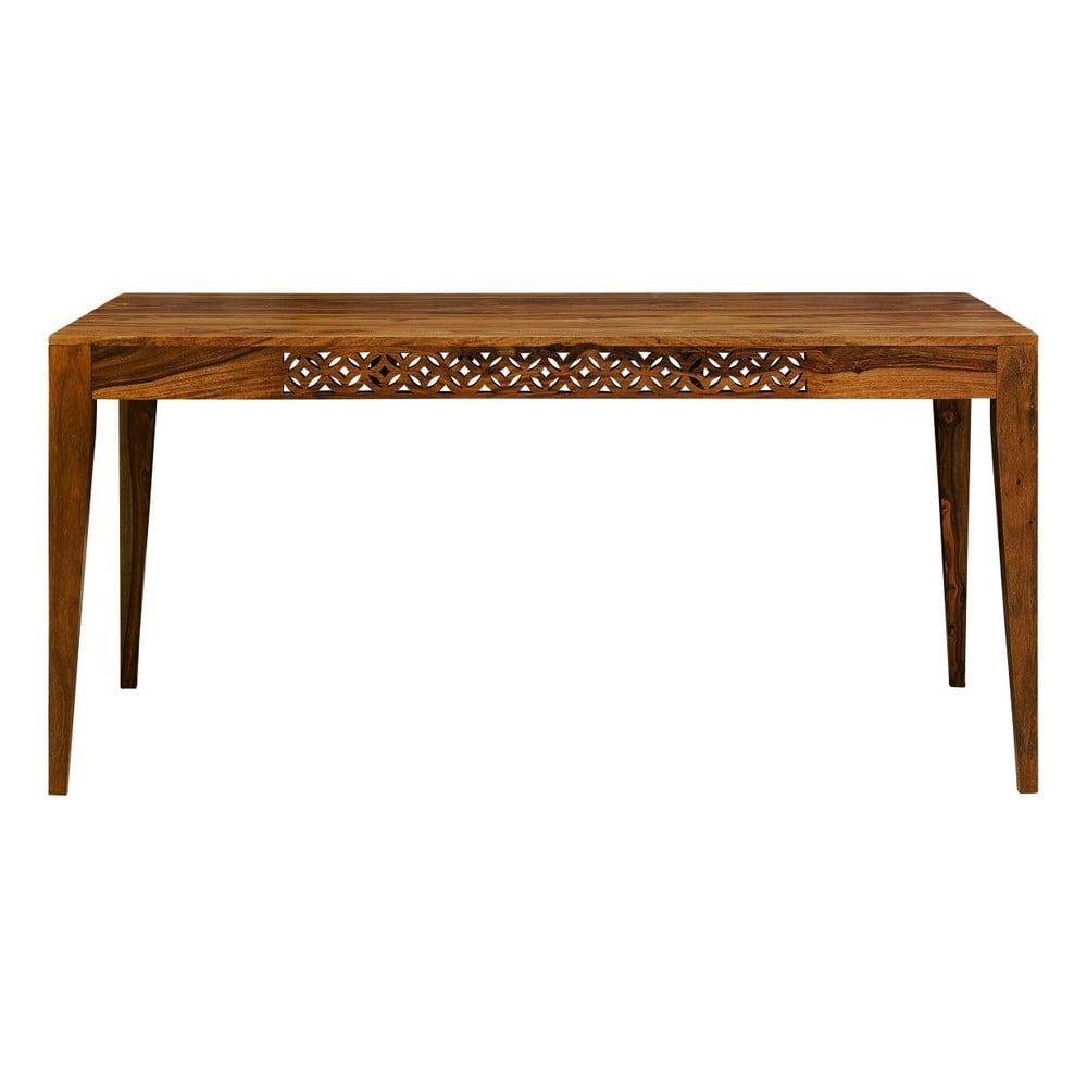 Jídelní stůl z masivního palisandrového dřeva Massive Home Rosie, 90x140cm