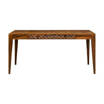 Masă dining din lemn de palisandru Massive Home Rosie, 90 x 140 cm