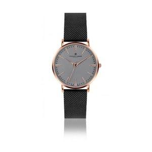 Unisex hodinky s páskem z nerezové oceli v černé barvě Frederic Graff Eiger