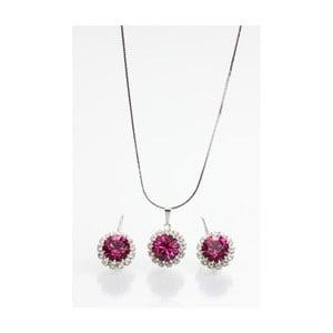 Set náhrdelníku a náušnic se Swarovski Elements Laura Bruni Chendler