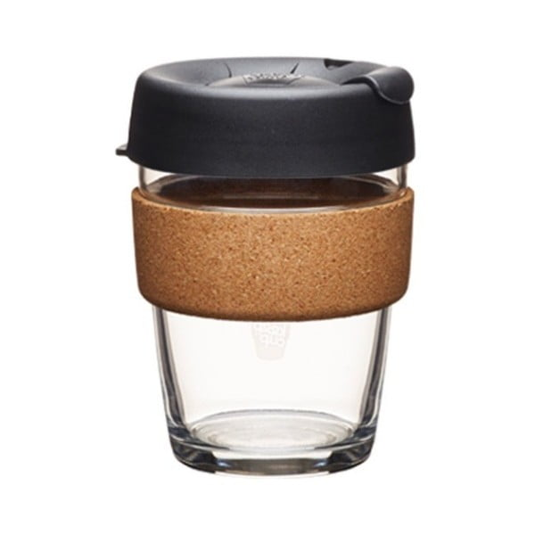 Cană de voiaj cu capac KeepCup Brew Cork Edition Espresso, 340 ml