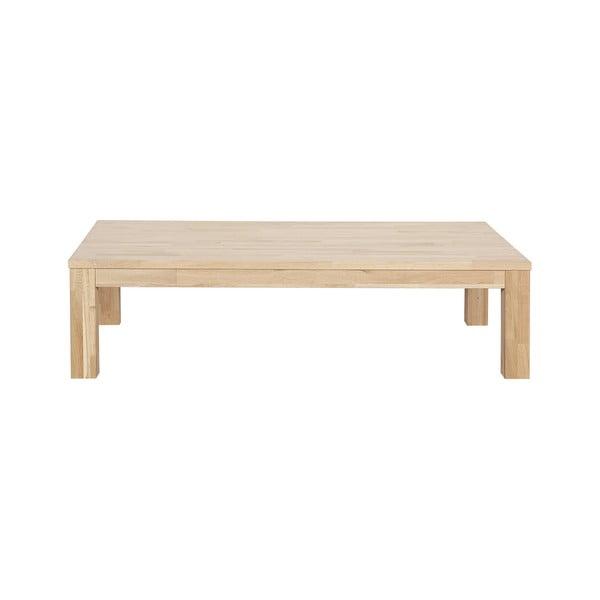 Largo tölgyfa dohányzóasztal, hosszúság 150 cm - WOOOD