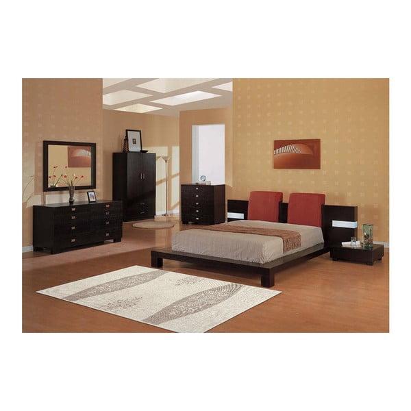 Krémově bílý bavlněný koberec Decor 60x90 cm