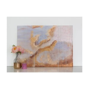 Obraz Gold Abstract, 60x90 cm