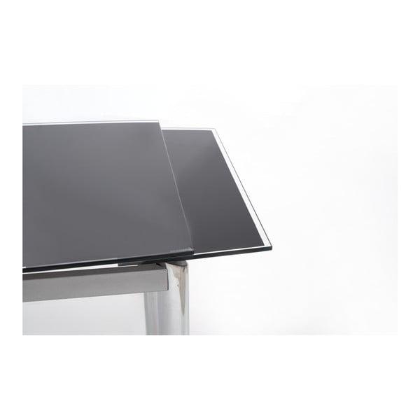 Rozkládací jídelní stůl s černou deskou Halmar Lambert, délka120-180cm