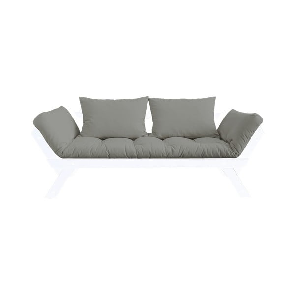 Canapea extensibilă Karup Design Bebop White/Grey