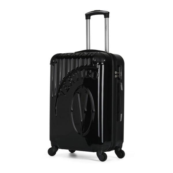Černý cestovní kufr na kolečkách VERTIGO Valise Grand Format Duro, 36l