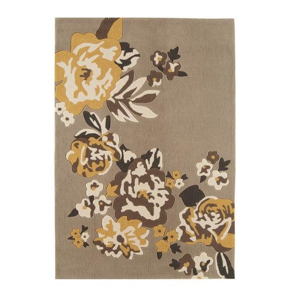 Koberec Harlequin Flora Brown, 160x230 cm