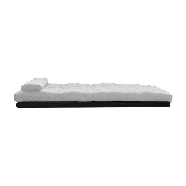 Dvoumístná variabilní lenoška Karup Figo Wenge/Light Grey
