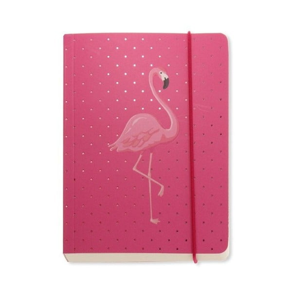 Zápisník A6 Go Stationery Flamingo Pink