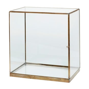 Cutie din sticlă pentru depozitare Hübsch Galeo, 40 x 42 c- imagine