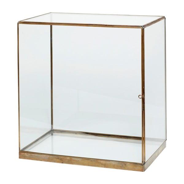 Cutie din sticlă pentru depozitare Hübsch Galeo, 40 x 42 c-