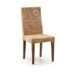 Ratanová židle s dřevěnou konstrukcí Moycor Banana