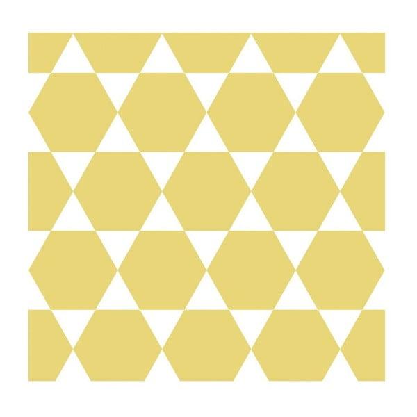 Tapeta Stars Yellow