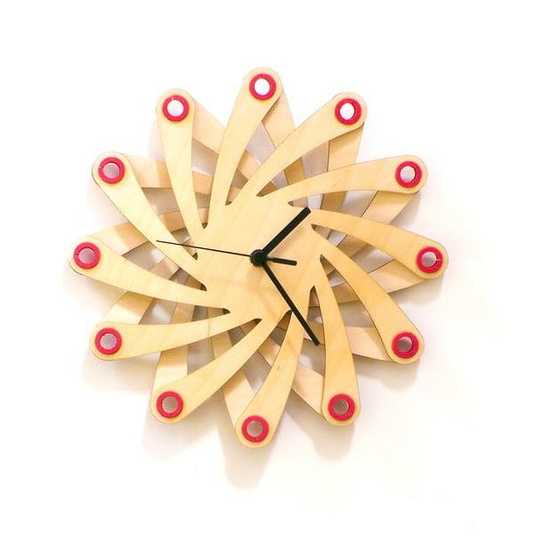 Dřevěné hodiny Galaxy, 29 cm