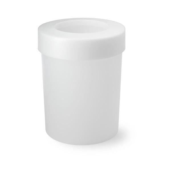Odpadkový koš Cap, 20 l, průhledný
