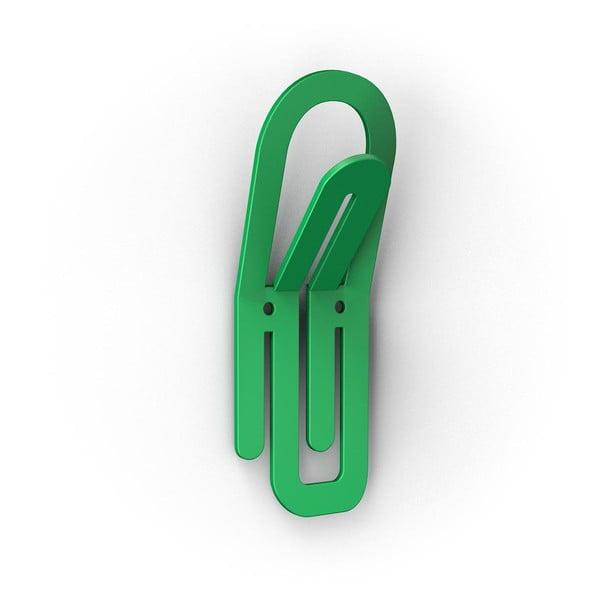 Zelený háček Clip