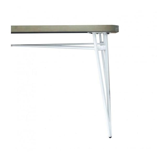 Jídelní stůl z akáciového dřeva sømcasa Niza, délka 180 cm