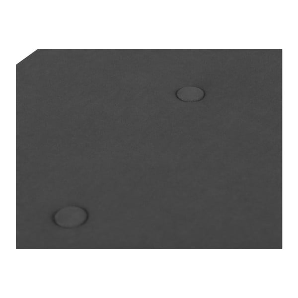 Tmavě šedý otoman s úložným prostorem Windsor & Co Sofas Astro, 160 x 47 cm