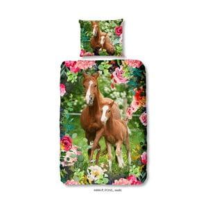 Dětské bavlněné povlečení na jednolůžko Good Morning Foal, 140 x 200 cm