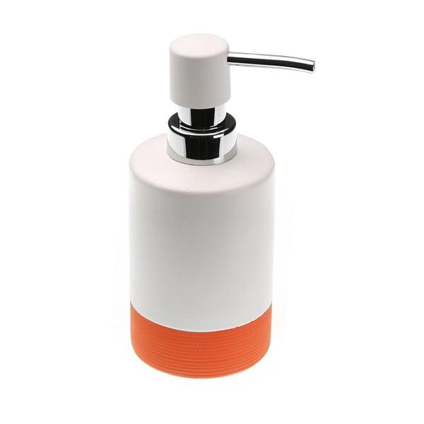 Oranžový dávkovač na mydlo Versa Lilian