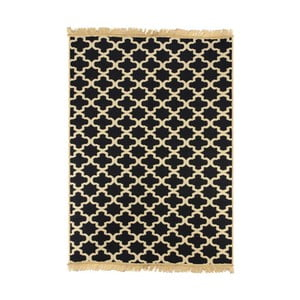 Tmavě modrý koberec Ya Rugs Tan, 72x150cm