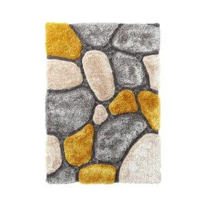 Žlutý koberec Think Rugs Noble House, 150x230cm