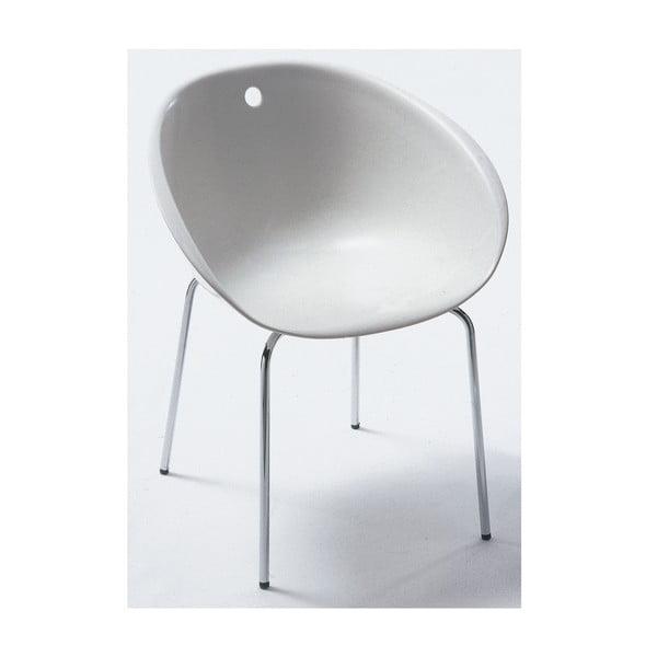 Bílá židle Pedrali Gliss
