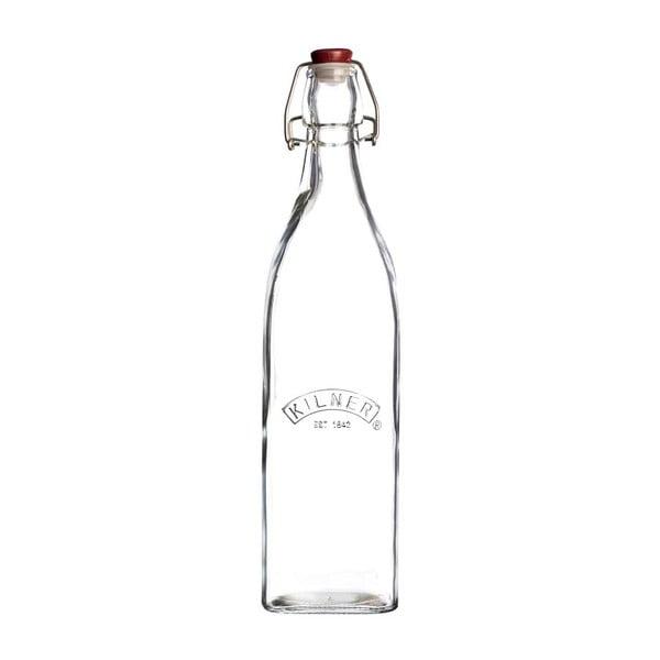 Fľaša s plastovým uzáverom Kilner, 550 ml